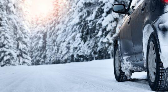 Bil på vinterføre